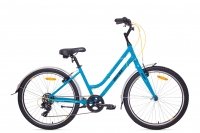 Велосипед Аист Aist Cruiser 1.0 W, blue / синий